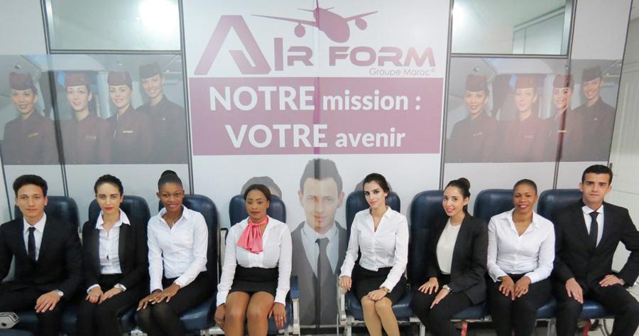 Formation Cca Hotesse De L Air Et Steward Groupe Air Form Maroc